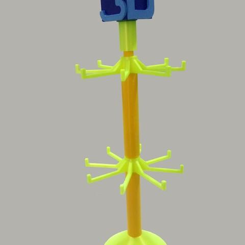 Free 3D printer files Coat rack, table couch., crcreaciones3d
