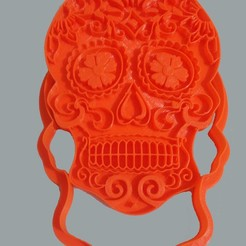 Download 3D printing files Coconut Skull, Cookie Cutter, Cookies Cutter, Aroma Base, crcreaciones3d