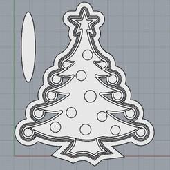 PinoBorlas.jpg Télécharger fichier STL Pin de Noël • Design à imprimer en 3D, crcreaciones3d