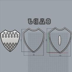EscudoBoca120mm.jpg Download STL file Mouth shield, Cookie cutter. • Design to 3D print, crcreaciones3d