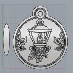 AdornoFarol.jpg Télécharger fichier STL Une décoration de Noël, un Noël différent. • Plan pour imprimante 3D, crcreaciones3d