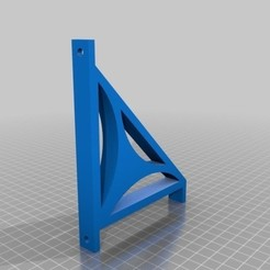 Free 3d print files Shelf Bracket, fihthedon
