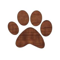 Download free STL files Pumpkin Paw Print/Halloween Decorations/Kids Halloween Craft/Animal Paw Design/Animal Love, the3dcoder