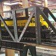 Imprimir en 3D Modelo de puente de tren (funcional, modular y escalable puente de cerchas), the3dcoder