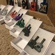 Imprimir en 3D Pendientes y Collar de Guitarra - (se incluyen muestras de producción terminadas), the3dcoder