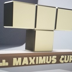 Download free 3D printing templates Nintendo Switch - Tetris 99 - Maximus Cup Trophy , the3dcoder