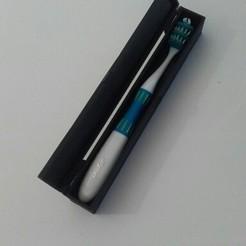 Free STL files Toothbrush box, jpn3383