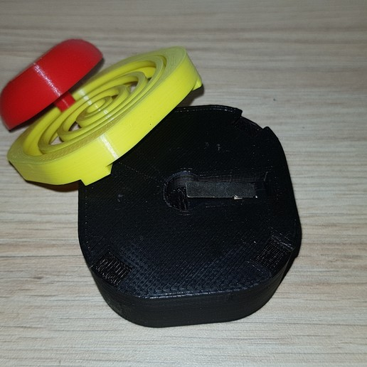 20200930_180614.jpg Download free STL file Emergency button for limit switch / buzzer • 3D printer object, Heliox