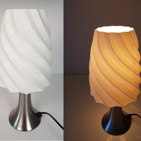 Free 3D print files Lamp Shade / Abat Jour, Heliox