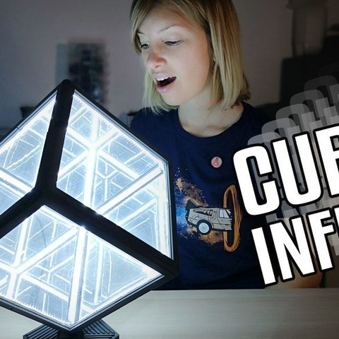 Free 3D printer files Cube Infini / Infinity Cube, Heliox