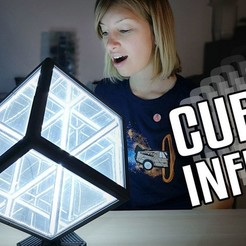 Free 3D printer files Cube Infini / Infinity Cube, Heliox