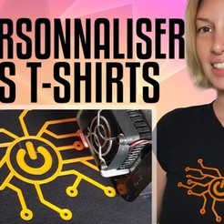 Download free 3D printer model Personnaliser ses T-SHIRTS, Heliox