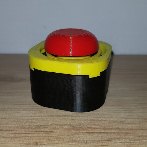 20200930_180507.jpg Download free STL file Emergency button for limit switch / buzzer • 3D printer object, Heliox