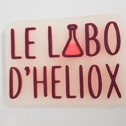 Download free 3D printer designs Le magnet d'Heliox, Heliox