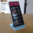Download free STL file Post It Support de Téléphone - Stand Phone • 3D printer object, Heliox