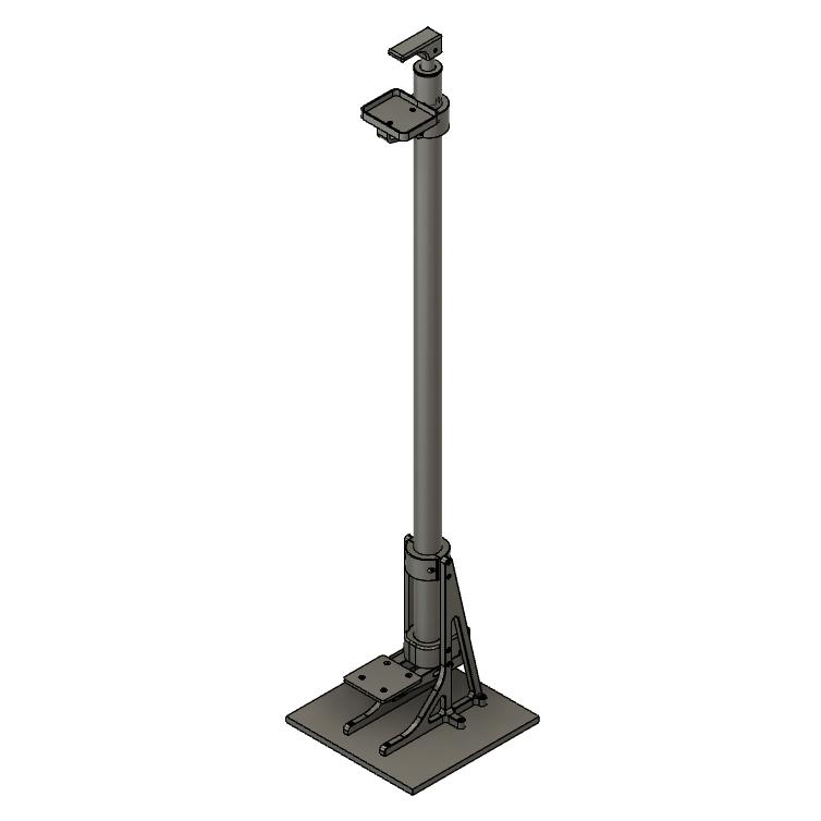 free_standing.png Download STL file Hand Free Sanitizer Dispenser • 3D print object, Osprey