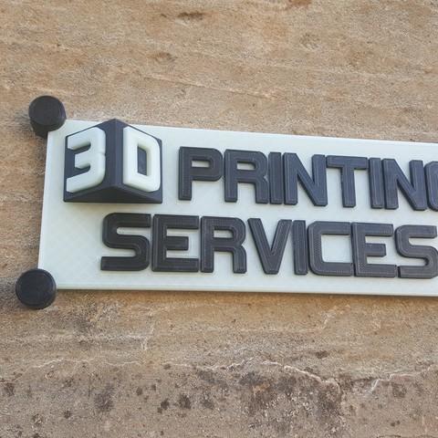Descargar modelo 3D Cartel de Servicios de Impresión 3D, Osprey