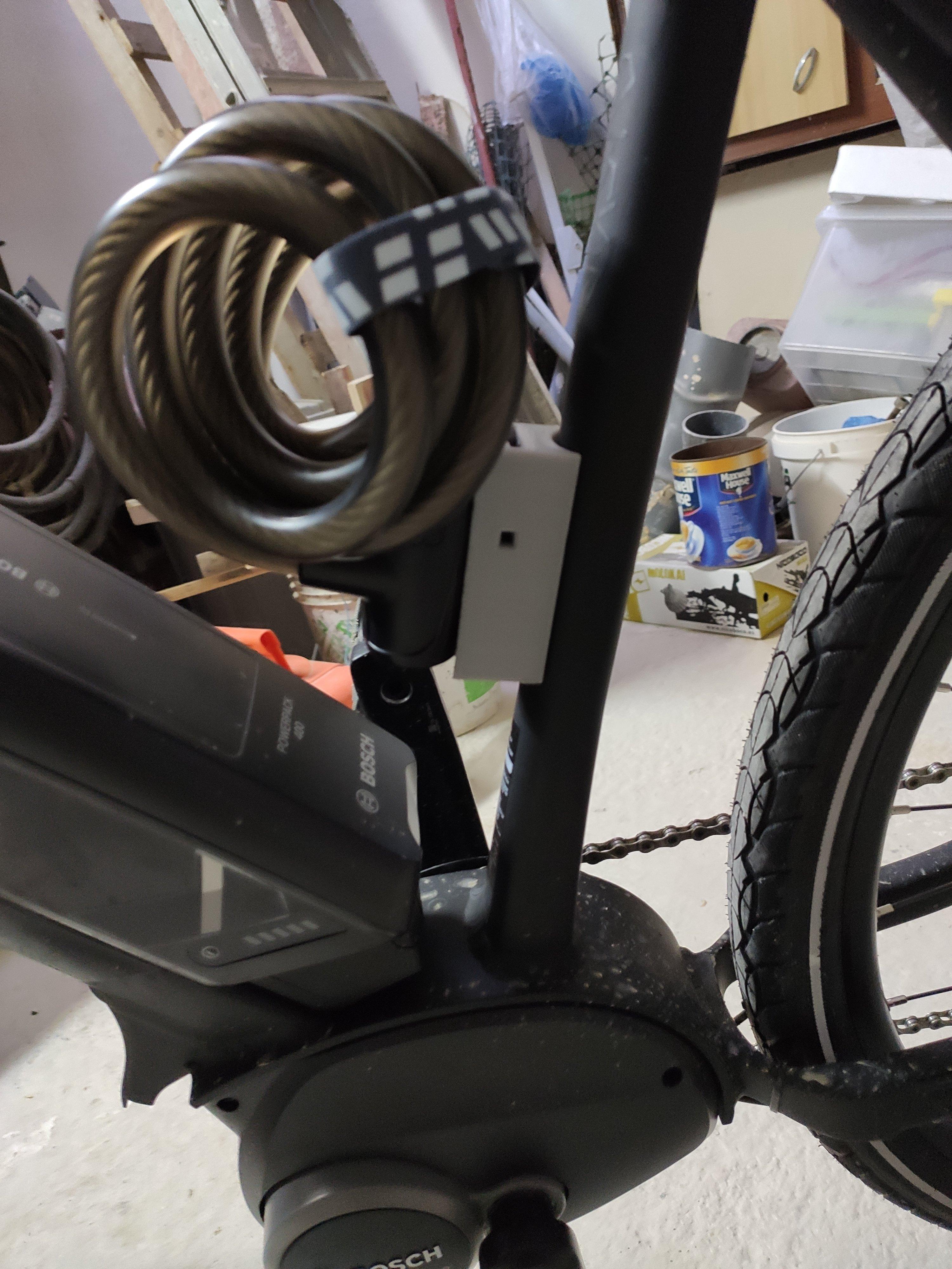 IMG_20191110_110638.jpg Download free STL file Bicycle Lock Bracket • 3D printer object, Osprey