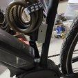 Download free 3D printing models Bicycle Lock Bracket, Osprey