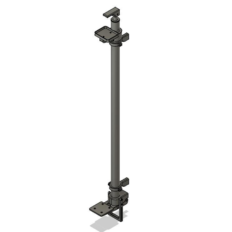 wall_mounted.png Download STL file Hand Free Sanitizer Dispenser • 3D print object, Osprey