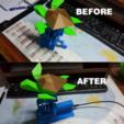 Télécharger plan imprimante 3D gatuit Carter moteur pour tortue de mer volante, Osprey