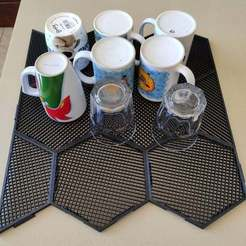Download free 3D printer designs Stackable Modular Mug Drying Rack, Osprey