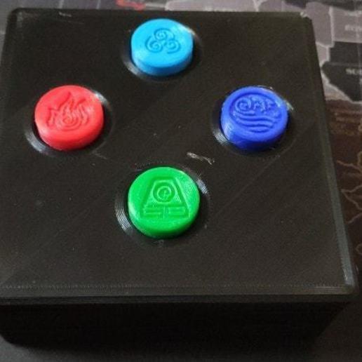 83944476_477434489556375_4468009621390360576_n.jpg Download STL file Magnetic Escape Room Puzzle Box • Design to 3D print, Osprey