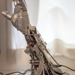 stl file IRON LAMP - 3D Printed Desk Lamp, lupus3d