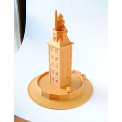 torre.jpg Télécharger fichier STL Tour d'Hercule 2.0 • Objet pour imprimante 3D, iagoroddop