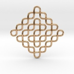 Fichier 3D Pendentif noeud sans fin, iagoroddop