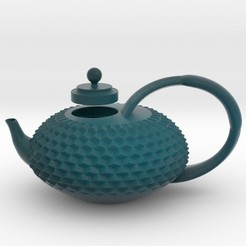 teapot.jpg Download STL file Teapot • 3D printer model, iagoroddop