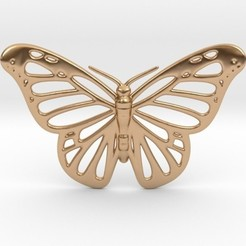 Download 3D printing designs Butterfly Pendant, iagoroddop