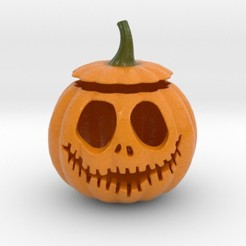 Download STL Halloween Pumpkin II, iagoroddop