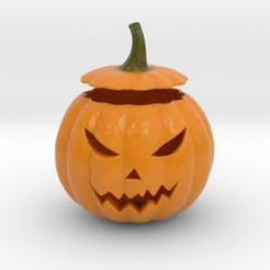 Download STL file Halloween Pumpkin, iagoroddop