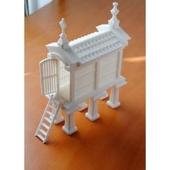 horreum.jpg Download STL file Horreo • 3D printable model, iagoroddop