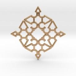 Download 3D printing designs Arrow Mandala Pendant, iagoroddop