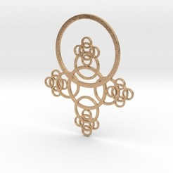 3D print model Phi Pendant II, iagoroddop