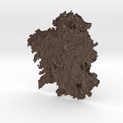 galicia.jpg Download STL file Galicia Relief • 3D printable template, iagoroddop