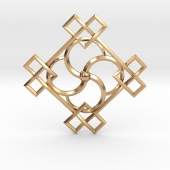 Download 3D printer designs Spiral Pendant, iagoroddop