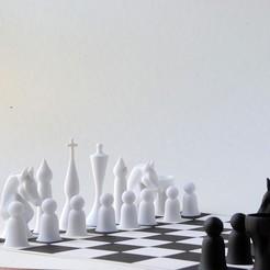 Download 3D printing models October Chess Set Redux, iagoroddop