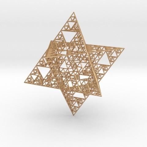 Download free 3D printer designs Wire Sierpinski Merkaba, iagoroddop