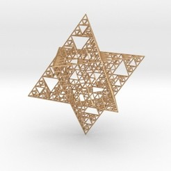 Download free 3D printer designs Wire Sierpinski Merkaba, iagoroddop