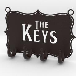 Download STL file Keys Hanger, iagoroddop