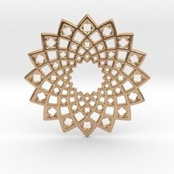 Descargar archivos 3D Sunny Fractal Medallion, iagoroddop
