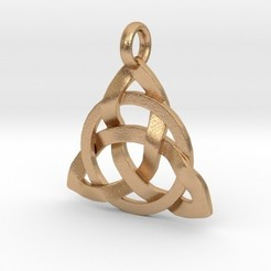 Download 3D printer designs Circular Knot Pendant, iagoroddop