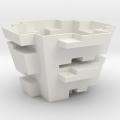 STL Blocky Planter, iagoroddop