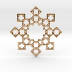 Télécharger plan imprimante 3D Pendentif Octostar, iagoroddop