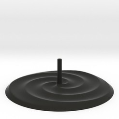3s.jpg Download STL file 3 Spirals Incense Burner • 3D printing template, iagoroddop