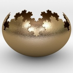 Descargar modelos 3D Koch Flake Bowl, iagoroddop