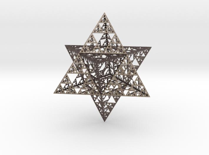 smlevel5hollow.jpg Télécharger fichier STL gratuit Sierpinski Merkaba • Design pour impression 3D, iagoroddop